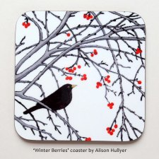 Winter Berries coaster