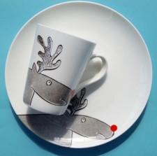 Reindeer plate