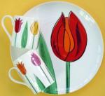 Tulip plate andmug