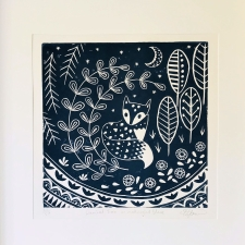 Daniel Fox in midnight blue framed new