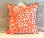 Edward Squirrel cushion orange – Mabel Fox –Q59