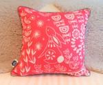 Evelyn Bunny cushion magenta – Mabel Fox –Q59