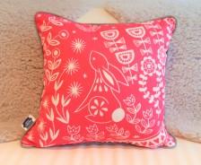 Evelyn Bunny cushion magenta - Mabel Fox - Q59